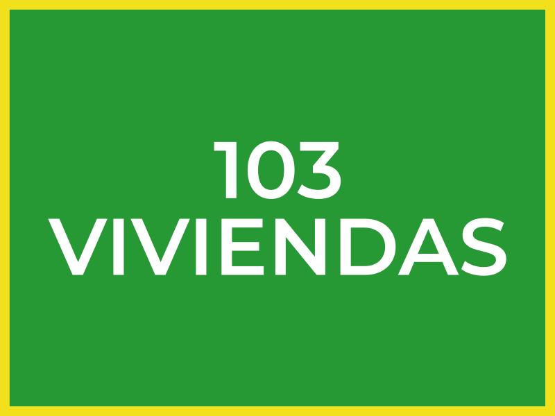 103 Viviendas
